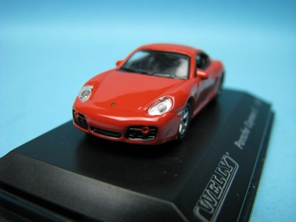 Porsche Cayman S red 1:87 Welly